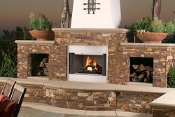 MPOD Outdoor Wood-Burning Fireplace