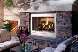 Oasis™ Wood-Burning Outdoor Fireplace